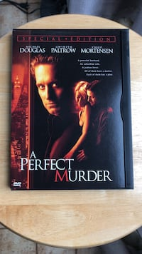 A Perfect Murder DVD Movie Laurel