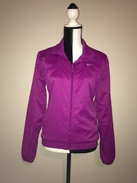 Nike Zip Up Lined Jacket (Medium)
