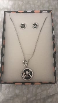 MK Necklace & Earrimgs Mississauga, L5H 4G7