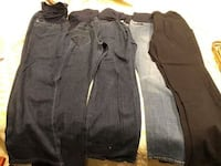 5 pair of maternity pants size 10 Chicago, 60631