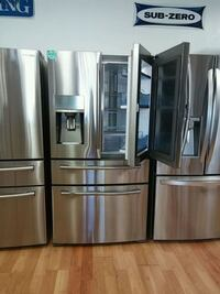 SAMSUNG COUNTER DEPTH STAINLESS FRENCH 4DOOR Ontario