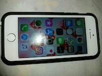 white iPhone 5 with black case Calgary, T3A 4J8