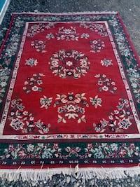 red, white, and blue floral area rug 2075 mi