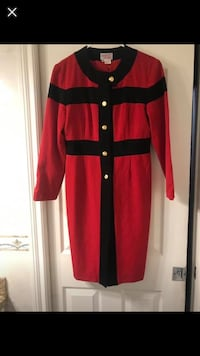 red and black long sleeve dress Burnaby, V3N 2S4