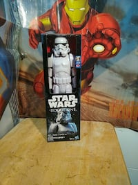 Star Wars storm trooper action figure box Staten Island, 10314