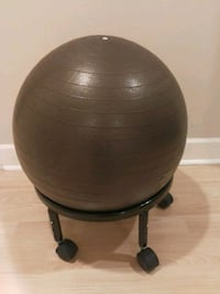 round brown wooden side table Vancouver, V5P 3M5