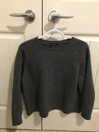 Incredibly soft grey sweater
