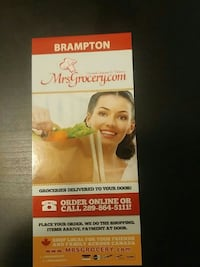 Grocery Delivery in Brampton