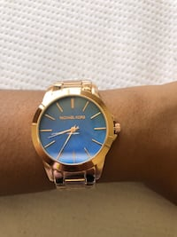 Blue Kors Watch