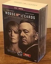 Coffret intégral House Of Cards Paris, 75009