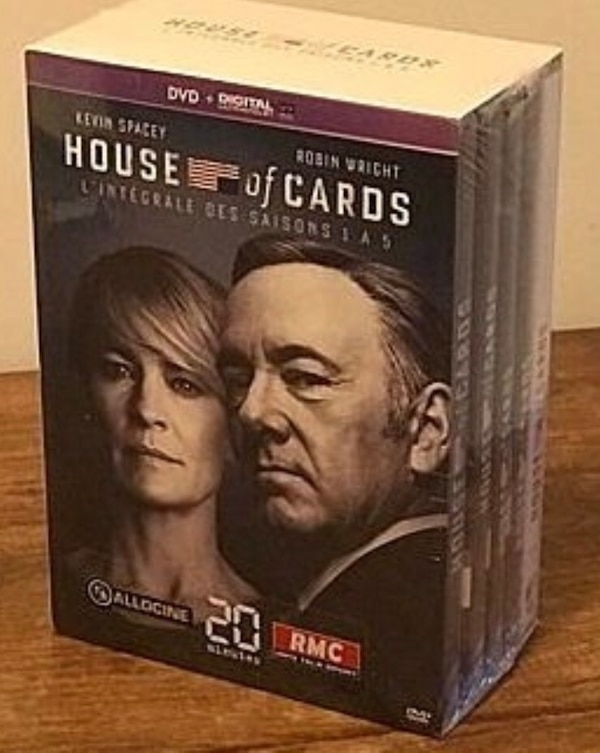 Coffret intégral House Of Cards