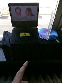 Portal DVD player and 30 movies