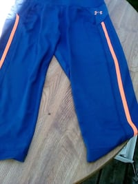 blue and red Adidas track pants Carrying Place, K0K 1L0