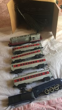 Antique train set 2173 mi