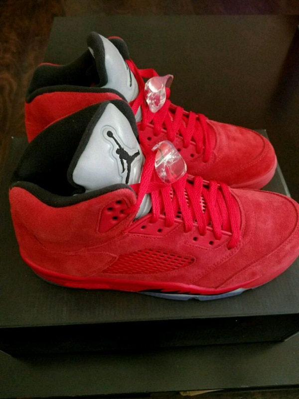 272fc2f7a68c Used Air Jordan 5 Red Suede size 8.5 for sale in Plano - letgo