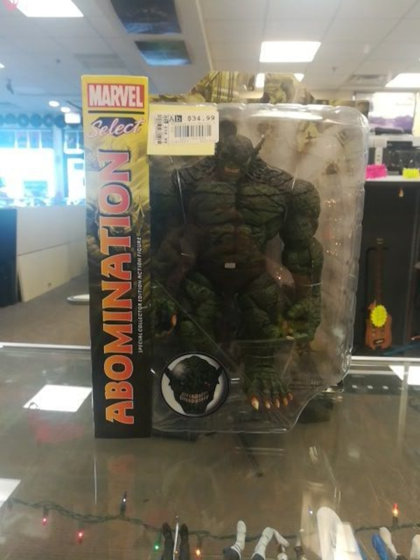 Marvel select abomination figure