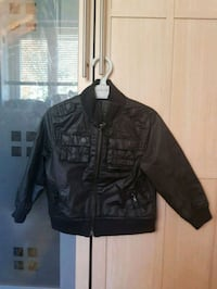 black leather zip-up jacket West Midlands, B14 6QF