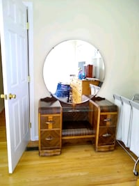 Vintage vanity with mirror Laurel, 20723