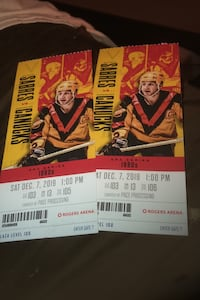 Canuck tickets Langley, V3A 7S6
