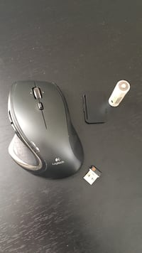 Black Logitech cordless mouse Strongsville, 44136