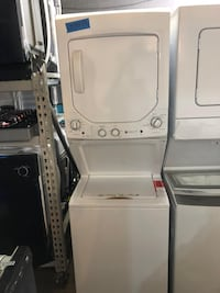 GE 24in stackable washer and electric dryer new 6 months warranty