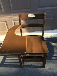 brown wooden table with chair Allentown, 18104