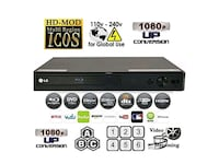 LG BP350 Streaming Wi-Fi Built-In BluRay Player Lake Forest, 92630