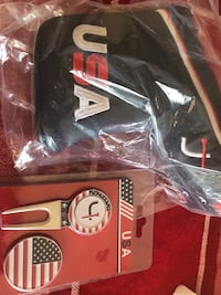 USA Logo putter head cover, divot tool and ball marker Orangeville, L9W