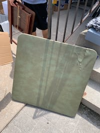 Green folding table  Mississauga, L5R 3W1