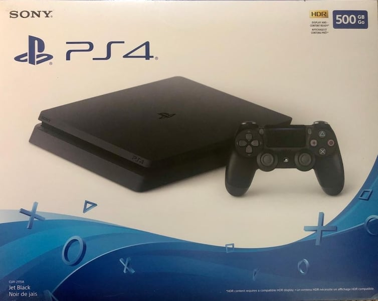 PS4 slim with 6 games  63bf39b4-7a81-4c15-a94c-3962b250557d