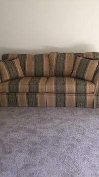 brown and gray fabric sofa Woodbridge, 22193