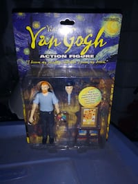 Vincent Van Gogh action figure from 2006. Los Angeles, 91411