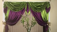 green and purple floral textile Paterson, 07503