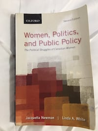 POL 501 - Women, Politics, and Public Policy 2nd Edition Markham, L6C 1R6