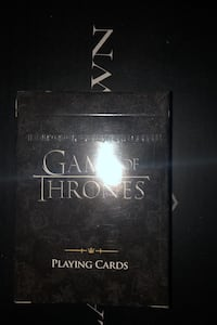 Game of thrones deck of cards Markham, L3R 4R7