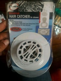 new universal hair catcher for shower