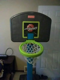 green and black Fisher-Price portable basketball hoop toy Tonopah, 89049