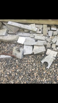 Various pieces of granite  Langley, V2Y 2Z4