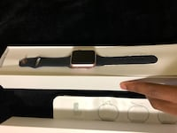 black Apple Watch with black sports band Edmonton, T6A 1G1
