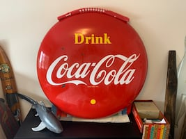"Vintage 48"" coke button"