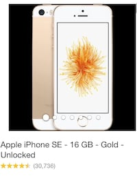 iPhone SE 16GB second hand Woodford Green, IG8 7LD