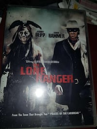 The Lone Ranger DVD med Johnny Depp  Oslo, 0986