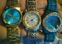round gold analog watch with link bracelet Pauls Valley, 73075