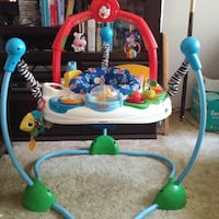 baby's white and blue jumperoo Leesburg, 20176