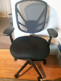 PRICE REDUCED * black and gray rolling armchair Edmonton, T5K