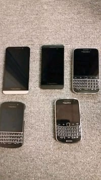 Blackberry phones for sale Toronto, M3J 2N1