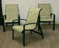 Three sling chairs New Rochelle, 10801