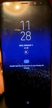 black Samsung Galaxy S8 plus unlocked from AT&T Boston, 02131