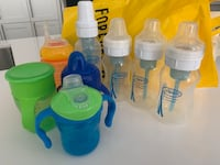 Bottles and sippy cup Milton, L9T 4G8