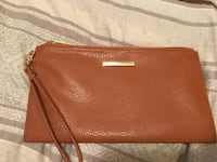 Brown faux leather wristlet Kelowna, V1Y